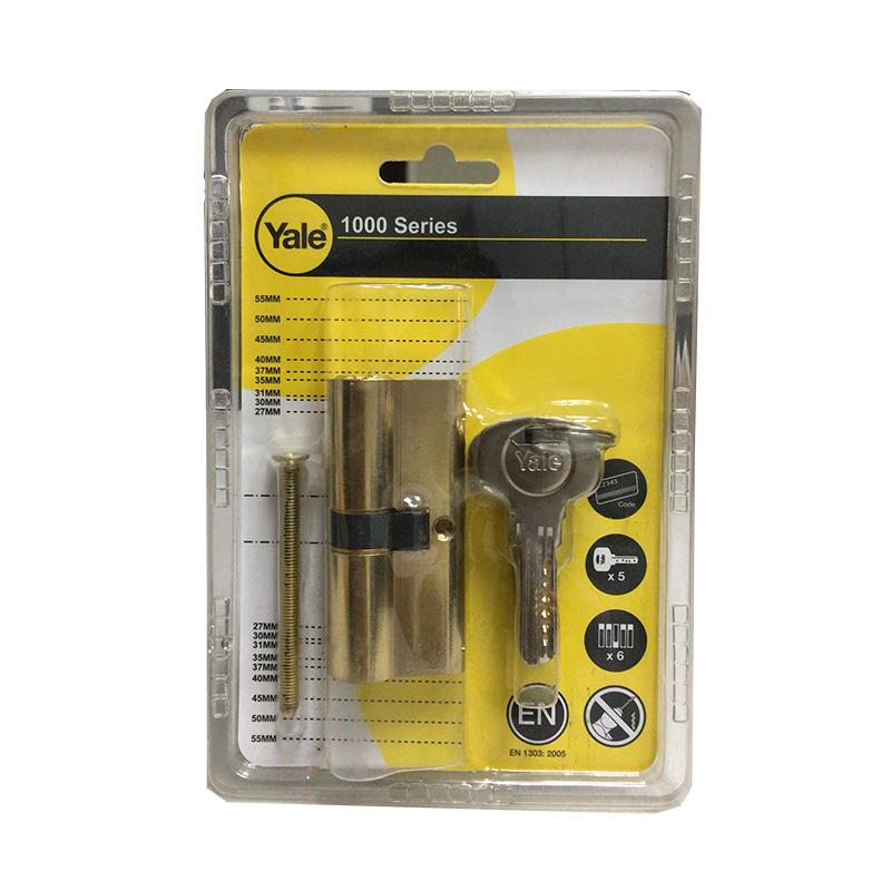 Ruột khóa dài 70mm màu đồng bóng Yale 10-1002-3535-00-02-01