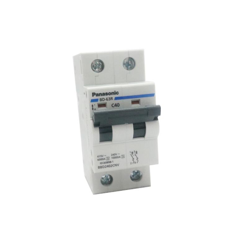 Cầu dao tép 2P 40A 240VAC Panasonic BBD2402CNV