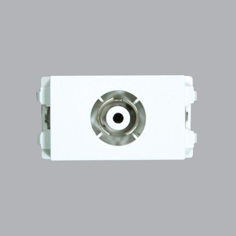 Ổ cắm đồng trục TV loại 75 Ohm MPE A6TV75