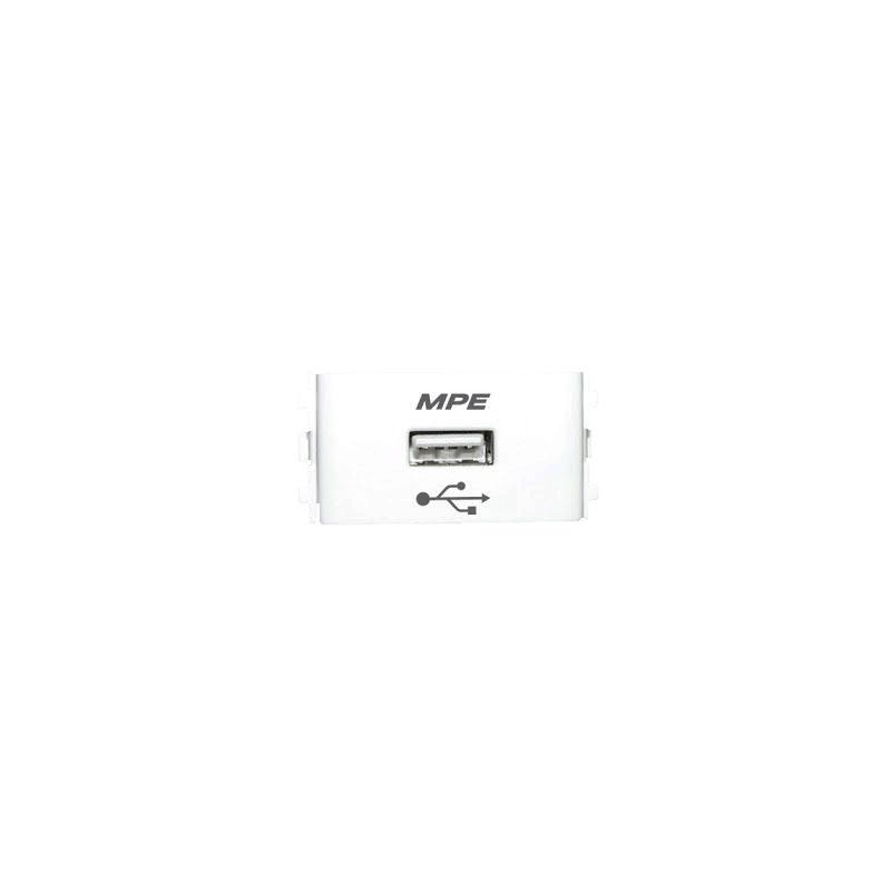 Ổ cắm sạc USB DC 5V-1000mA MPE AUSB
