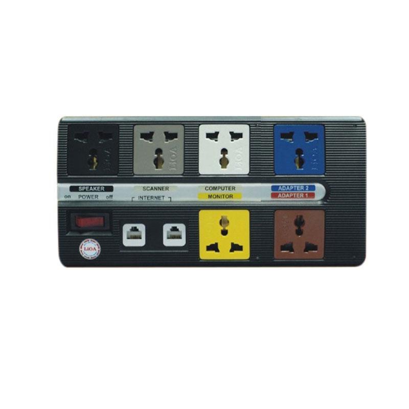 Ổ cắm điện đa năng 6 ổ cắm dây 3m  LiOA 6 OFFICE-3