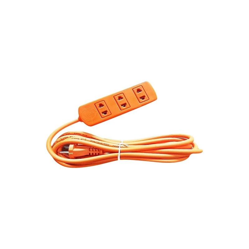 Ổ cắm điện 3 ổ cắm công suất cao dây 3m LiOA S3TC