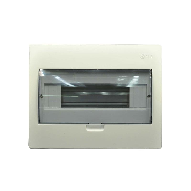 Tủ điện mặt và đế nhựa 8-12 modules SINO 601TRTASPE4FC812AS0B