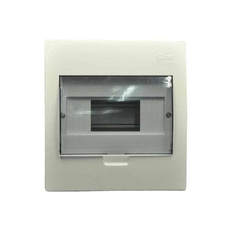 Tủ điện mặt và đế nhựa 3-6 modules SINO 601TRTASPE4FC36SAB