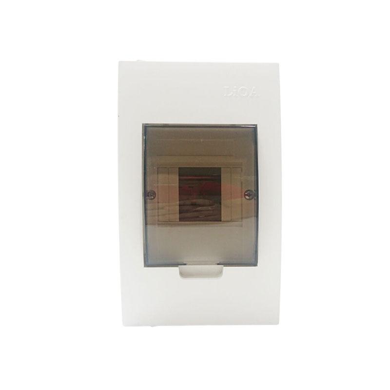 Tủ nhựa chứa 2/4 APTOMAT ( đế nhựa ) LiOA SE4FC2/4LA