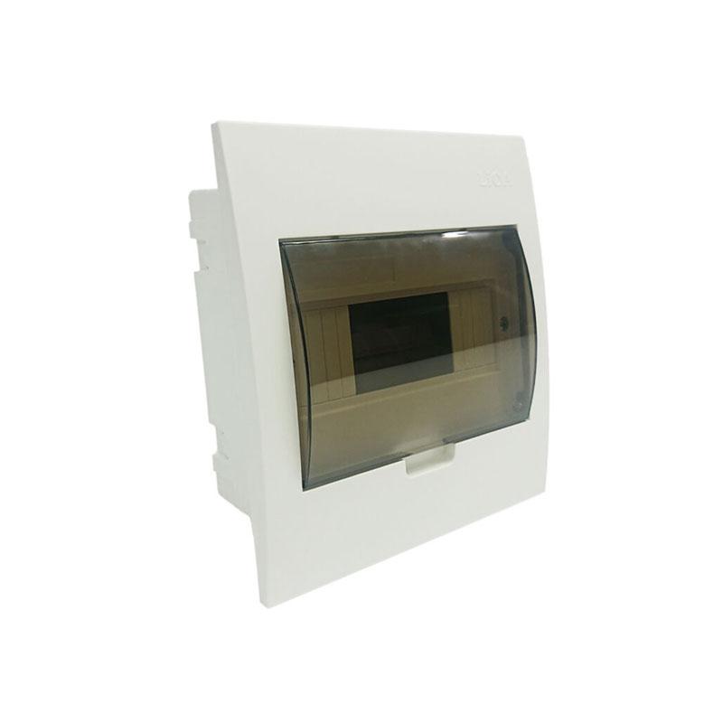 Tủ nhựa chứa 4/8 APTOMAT ( đế nhựa ) LiOA SE4FC4/8LA