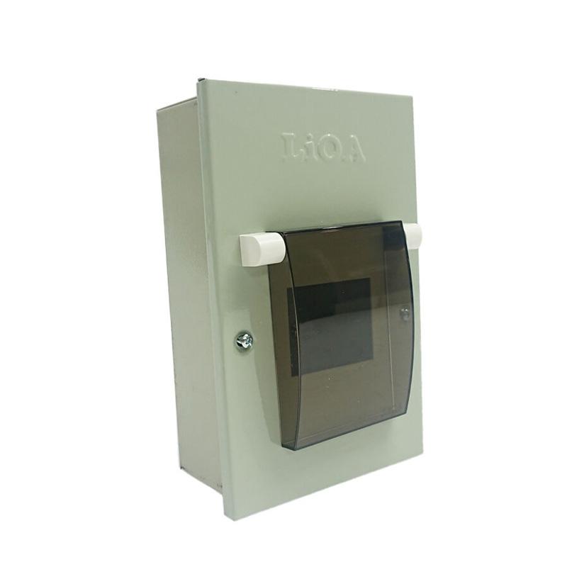 Tủ điện kim loại chứa 2 APTOMAT LiOA SE2PL