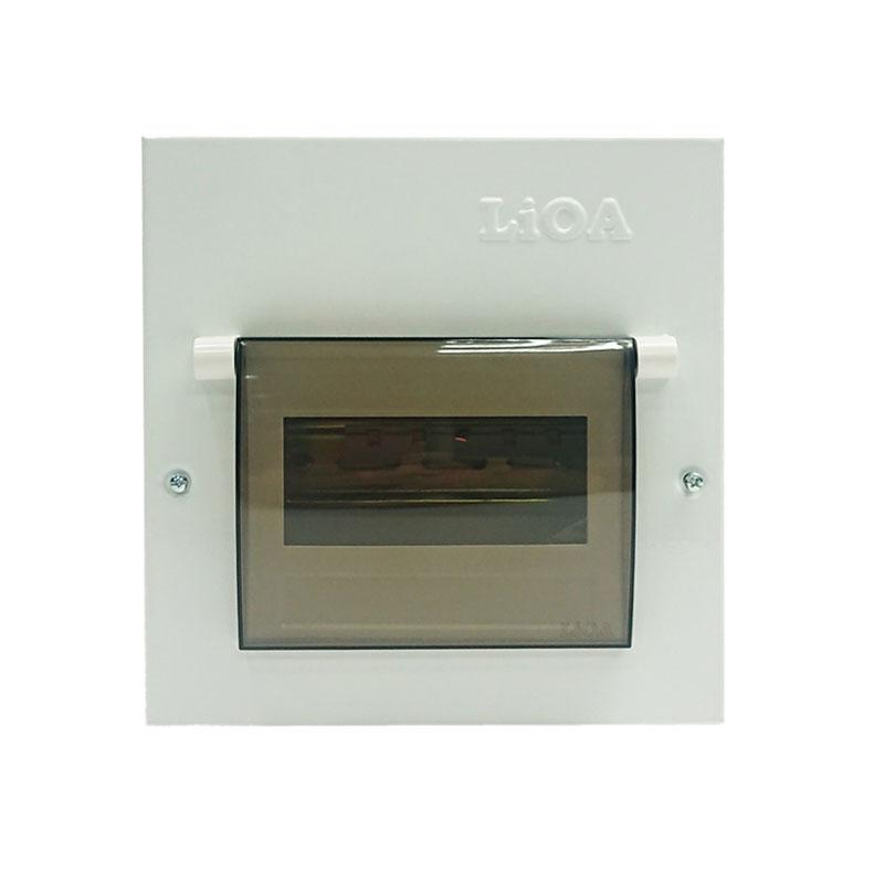 Tủ điện kim loại chứa 6 APTOMAT LiOA SE6PL