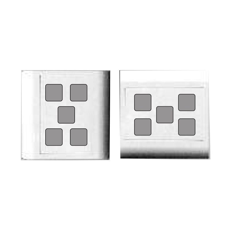 Mặt 5 lỗ và viền đơn trắng- Series V20 LiOA V20S5X