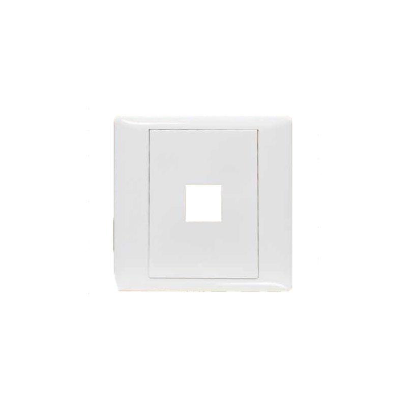 Mặt 1 lỗ và viền đơn trắng- Series V20SM LiOA V20SM1X