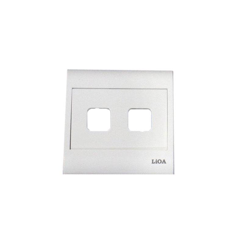 Mặt 2 lỗ và viền đơn trắng- Series V20 LiOA V20S2X