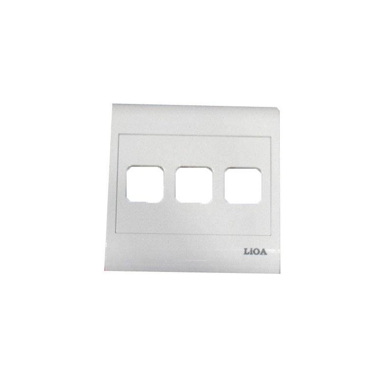 Mặt 3 lỗ và viền đơn trắng- Series V20 LiOA V20S3X
