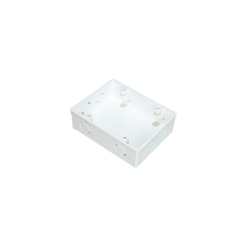 Hộp nhựa âm tường dùng cho 2 mặt đơn MPE A157ND