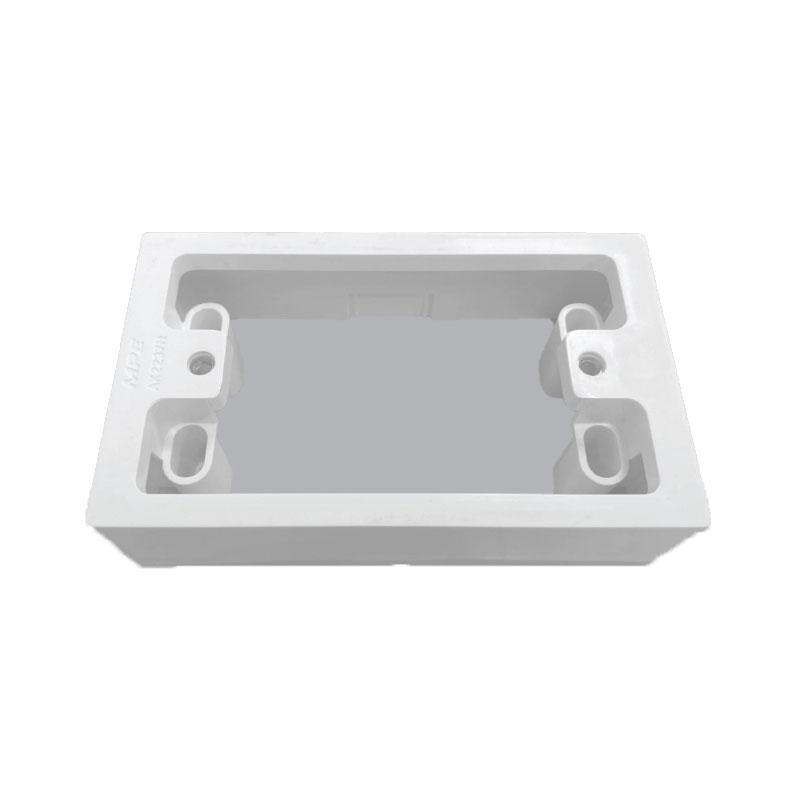 Hộp nhựa nổi dùng cho các mặt ổ cắm A20 và viền A20-Wn MPE AK2237N