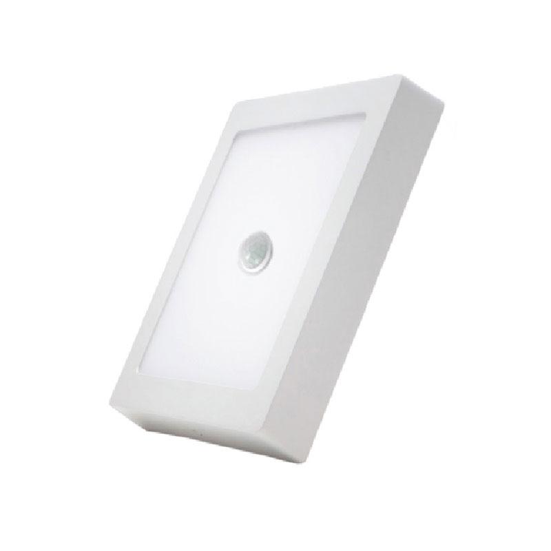 Đèn Led Panel vuông nổi Motion Sensor 12W MPE SSPL-12T/MS ánh sáng trắng