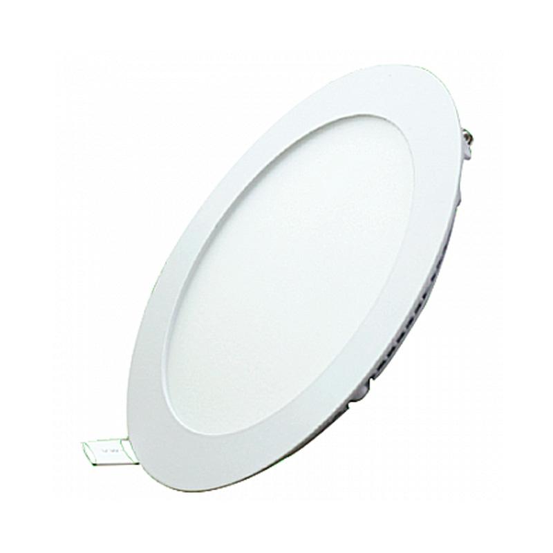 Đèn Led Panel tròn 3 màu 6W nhiệt độ màu 6000 - 6500K MPE RPL-6S/3C
