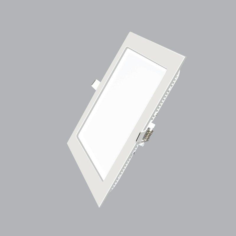 Đèn Led Panel vuông âm trần 18W MPE SPL-18V ánh sáng vàng