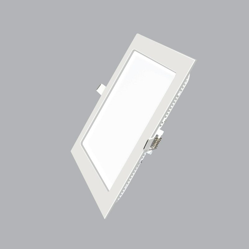 Đèn Led Panel vuông âm trần 12W MPE SPL-12V ánh sáng vàng