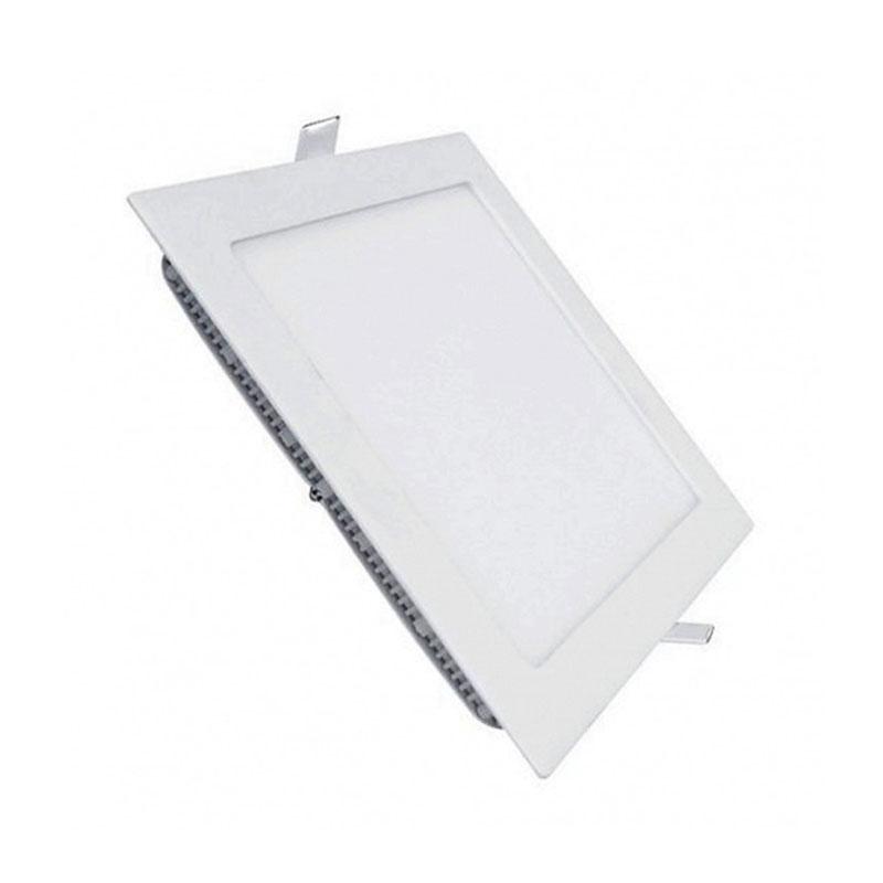 Đèn Led Panel vuông âm Dimmable 24W MPE SPL-24V/DIM ánh sáng vàng