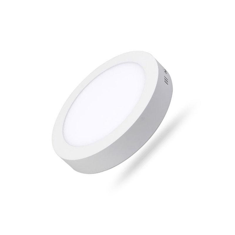 Đèn Led Panel tròn nổi Dimmable 12W MPE SRPL-12T/DIM ánh sáng trắng