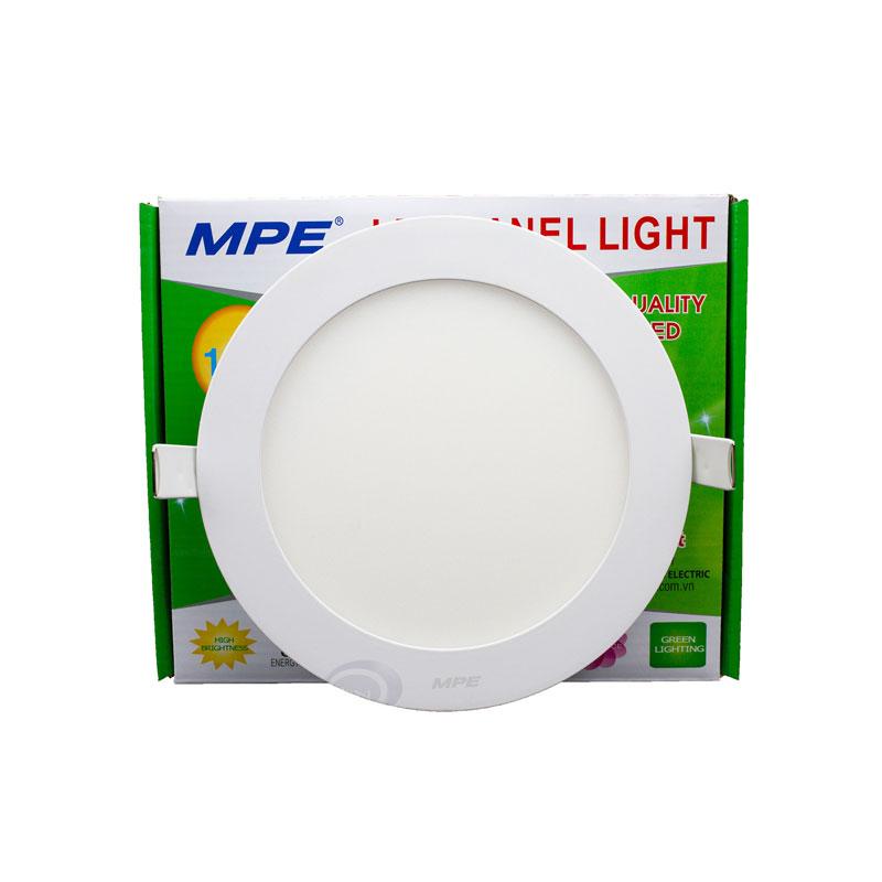 Đèn Led Panel tròn âm Dimmable 18W MPE RPL-18T/DIM ánh sáng trắng