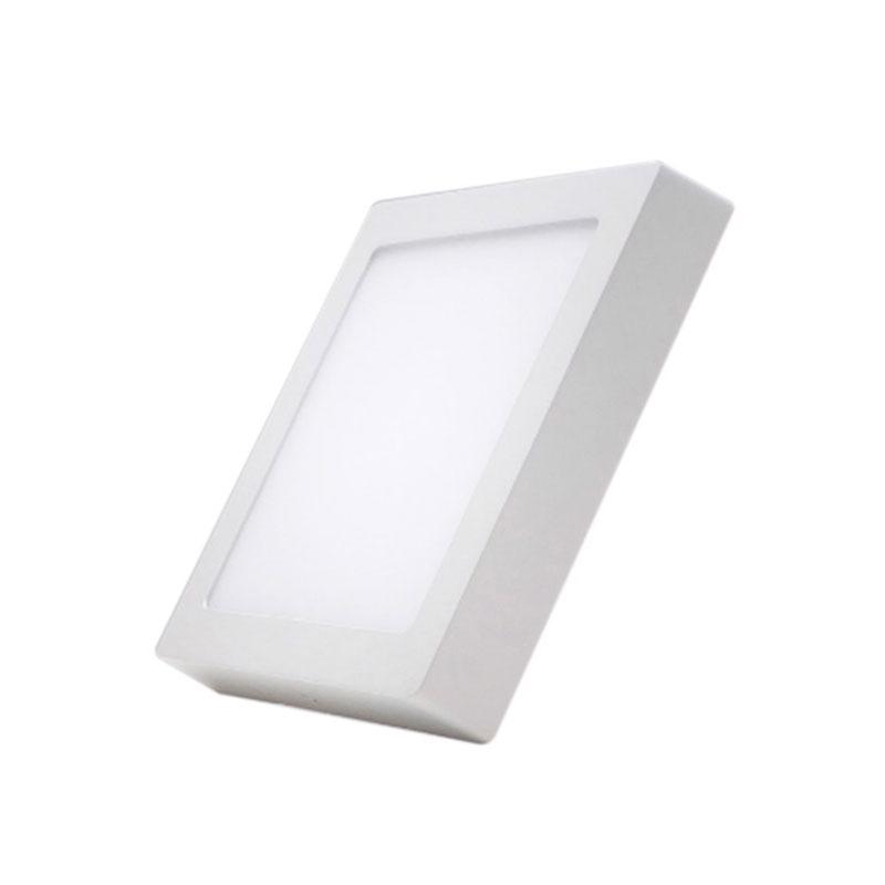 Đèn Led Panel vuông nổi Dimmable 12W MPE SSPL-12V/DIM ánh sáng vàng