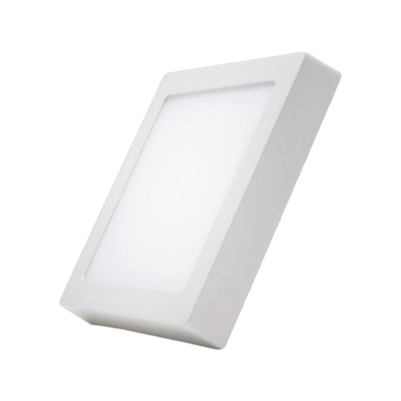 Đèn Led Panel vuông nổi 12W MPE SSPL- 12V ánh sáng vàng