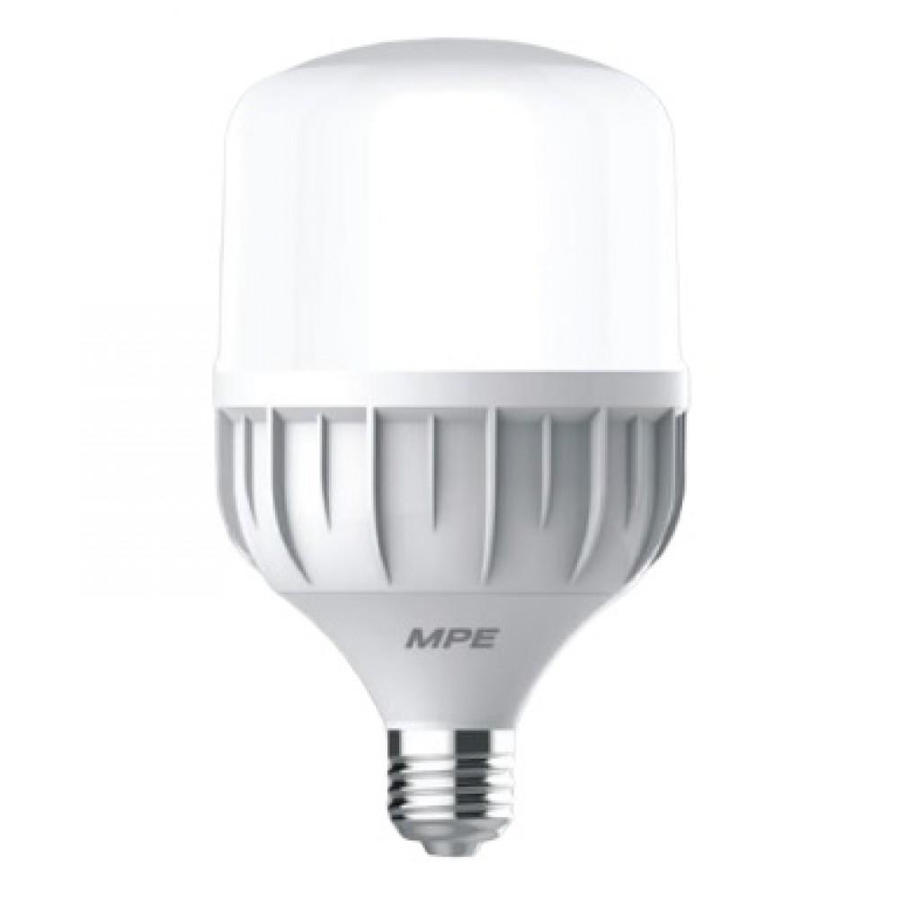 Đèn Led Bulb 50W đui E27 MPE LBD-50V ánh sáng vàng