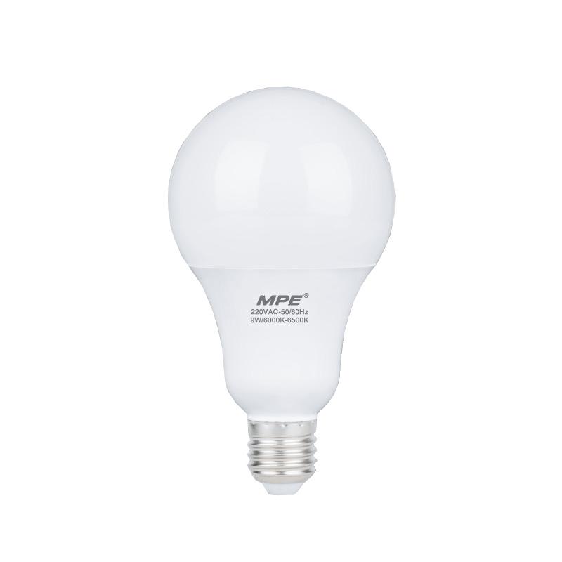 Đèn Led Bulb 3W góc chiếu 160° MPE LBL-3T ánh sáng trắng