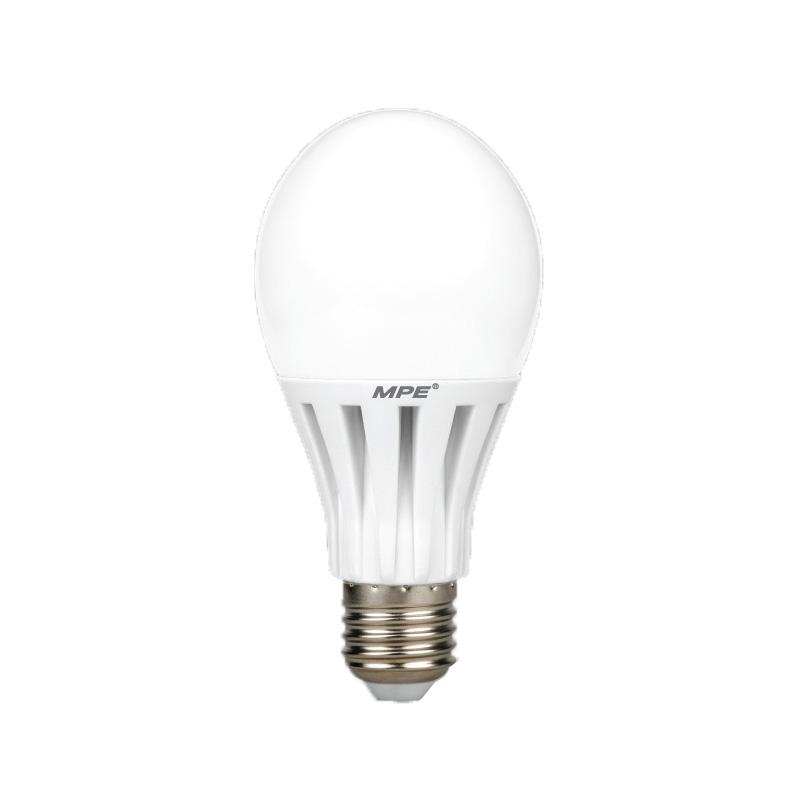 Đèn Led Bulb 12W góc chiếu 230° MPE LB-12V ánh sáng vàng