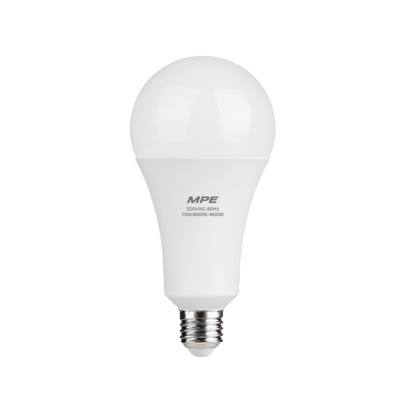 Đèn Led Bulb 15W đui E27 MPE LBD-15T ánh sáng trắng