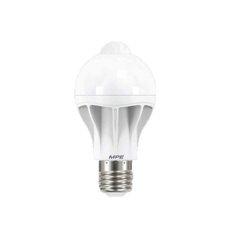 Đèn Led Bulb cảm biến chuyển động 9W góc chiếu 230 ° MPE LB-9/MS