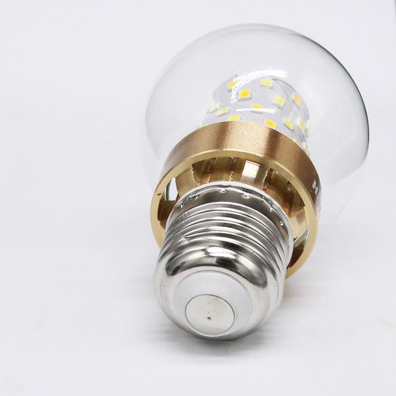 Bóng đèn Led Bulb tròn 3 màu đuôi E14 AC180-250V 50-60HZ