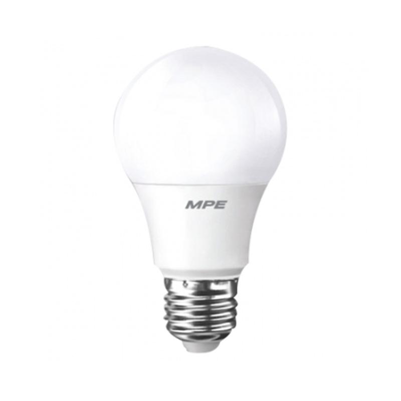 Đèn Led Bulb sử dụng Dimmer 9W góc chiếu 230 ° MPE LB-9T/Dim ánh sáng trắng
