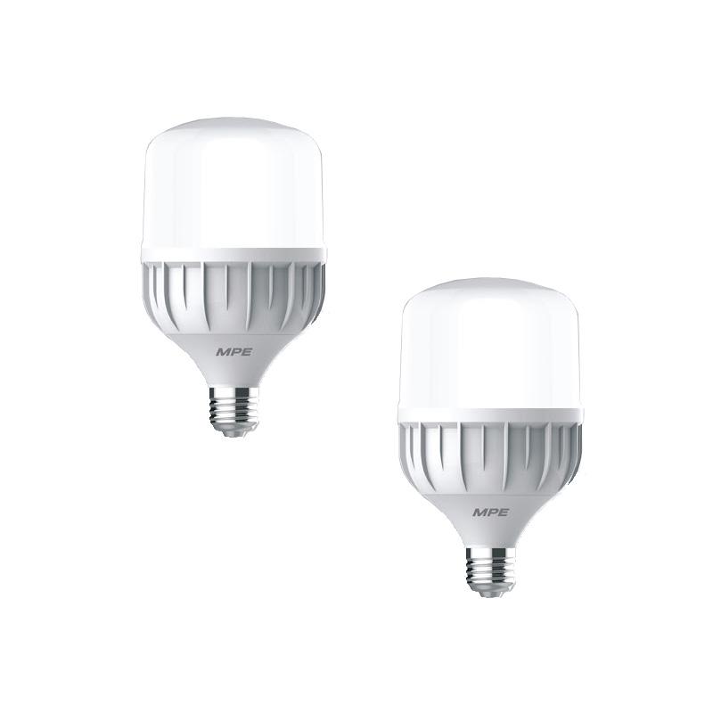 Đèn Led Bulb 20W đui E27 MPE LBD-20V ánh sáng vàng