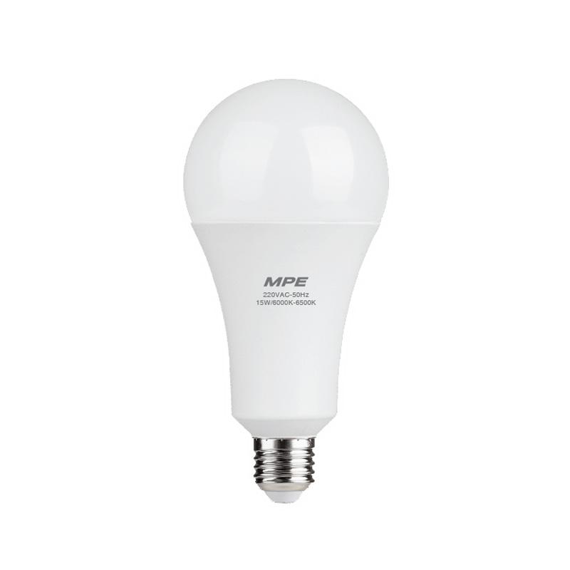 Đèn Led Bulb 15W đui E27 MPE LBD-15V ánh sáng vàng