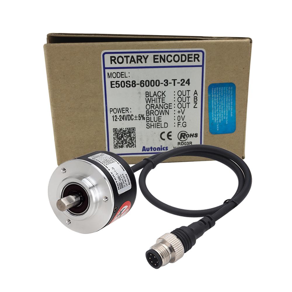 Bộ mã hóa vòng quay Autonics E50S8-6000-3-T-24