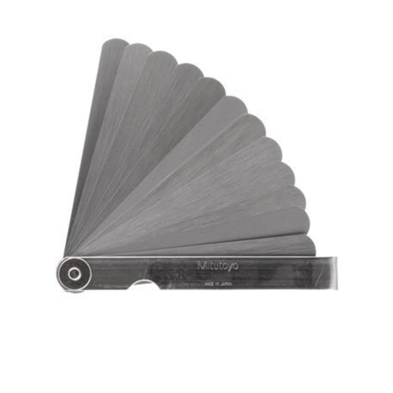 Bộ dưỡng đo khe hở 13 lá 0.03-0.5mm Mitutoyo 184-307S