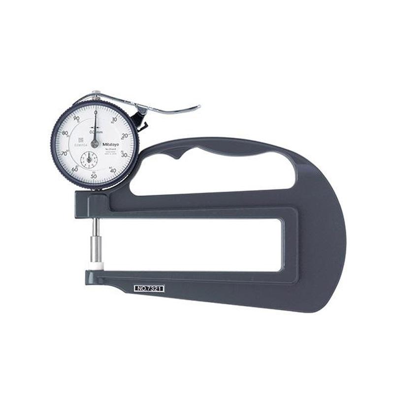 Đồng hồ đo độ dầy 0-10mm/±15µm Mitutoyo 7321