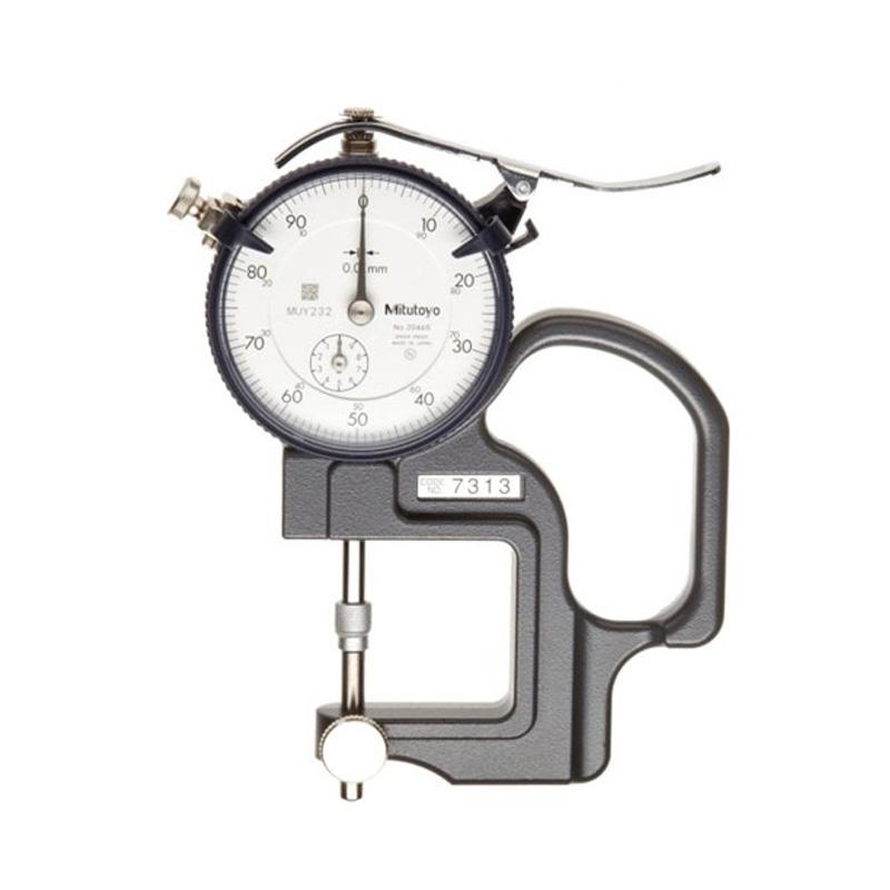 Đồng hồ đo độ dầy 0-1mm/±0.005mm Mitutoyo 7327