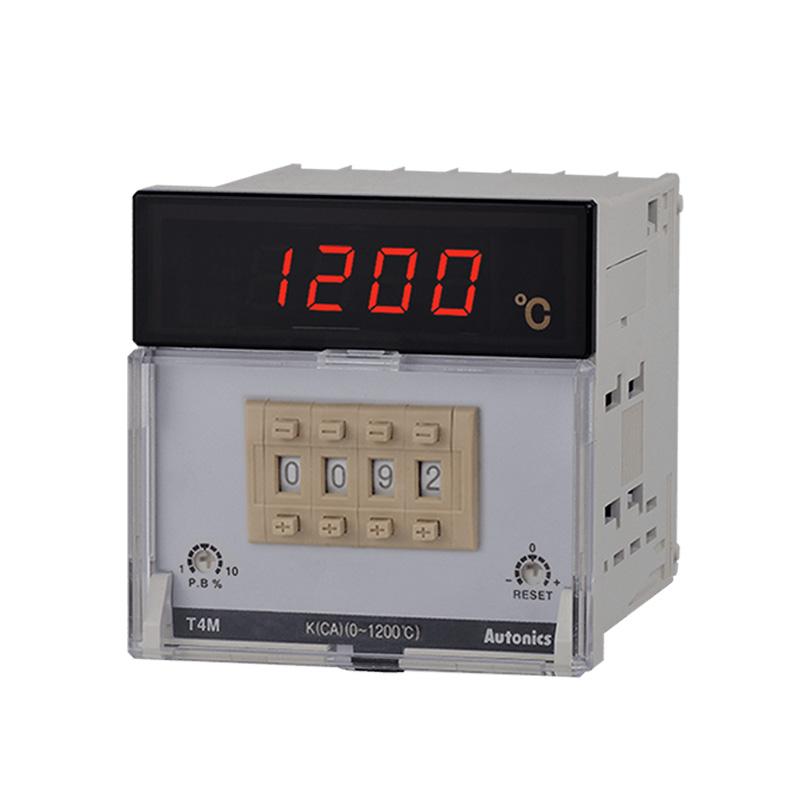 Bộ điều khiển nhiệt độ Led 7 đoạn 3 số Autonics T4M-B4RP0C-N