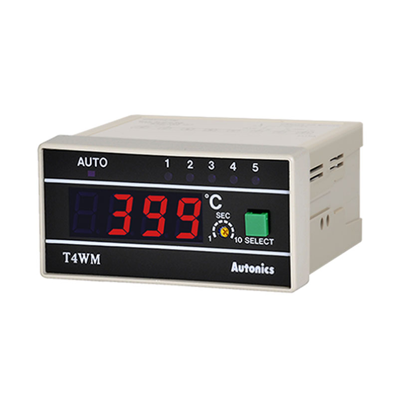 Bộ hiển thị nhiệt độ 0 - 399°C Autonics T4WM-N3NP4C
