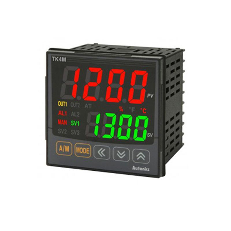 Bộ điều khiển nhiệt độ Led 7 đoạn 4 số Autonics TK4M-T4CR