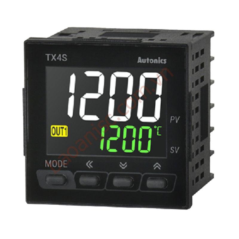 Bộ điều khiển nhiệt độ LED 11 đoạn 4 số Autonics TX4S-A4R