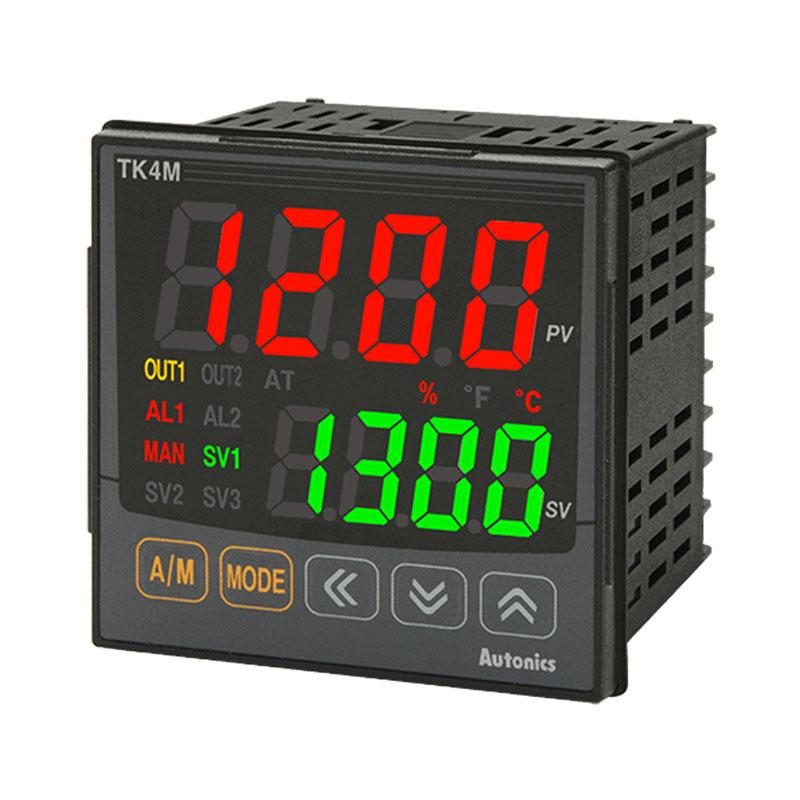 Bộ điều khiển nhiệt độ Led 7 đoạn 4 số Autonics TK4M-24CC