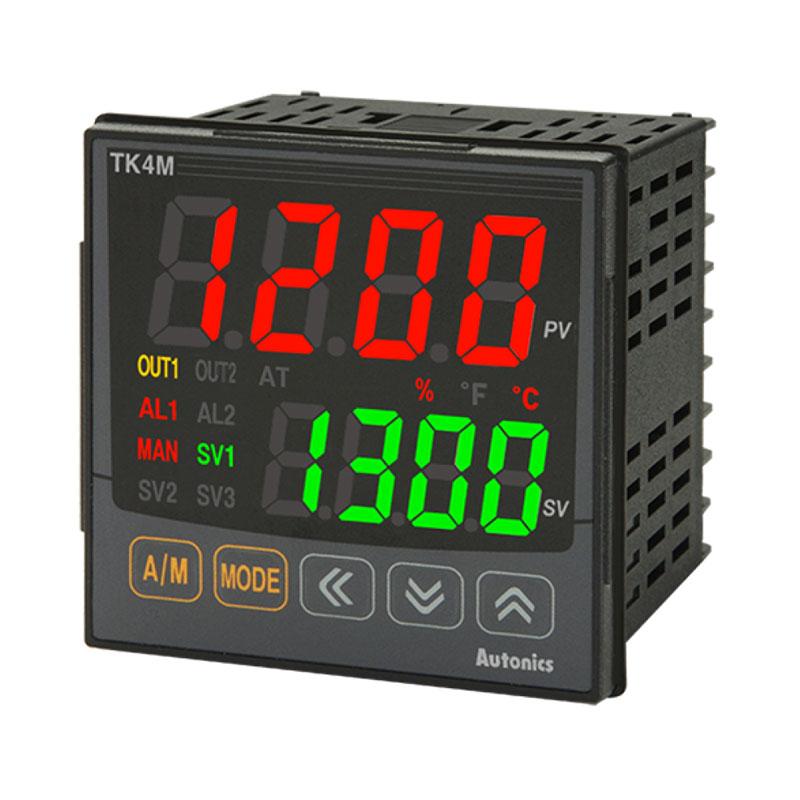 Bộ điều khiển nhiệt độ Led 7 đoạn 4 số Autonics TK4M-24CR
