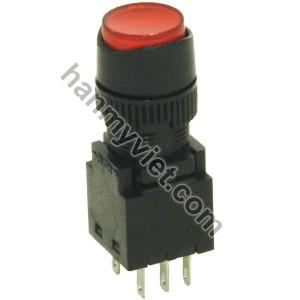 Nút nhấn Hanyoung (nhấn giữ) đèn LED 24V SRF-A1R + SRX-A15