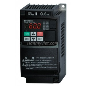 Biến tần Hitachi WJ200-007HFC(0.7kW-1Hp)