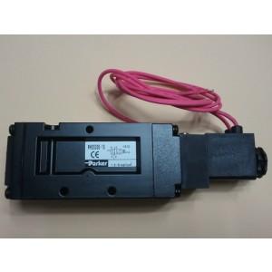 Van điện từ khí nén solenoid Parker 5 cửa 2 vị trí, 1 coil ren 21 PHS-541S-15