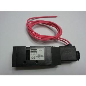 Van điện từ khí nén solenoid Parker 5 cửa 2 vị trí, 1 coil ren 9.6 (PHS-510S-6)